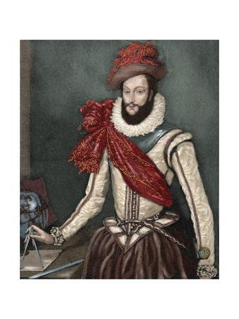 Sir Walter Raleigh (C. 1554-1618).