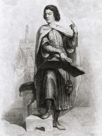 Peter Abelard with Book