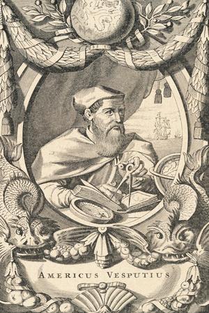Portrait of Explorer Amerigo Vespucci