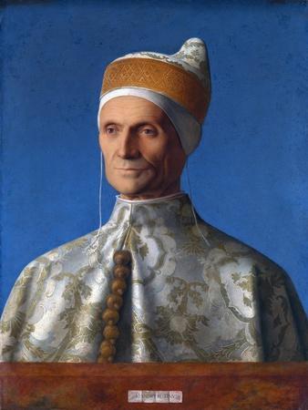 Portrait of the Venetian Doge Leonardo Loredan by Giovanni Bellini