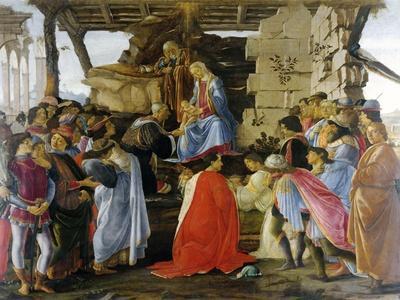 Adoration of the Magi by Sandro Botticelli
