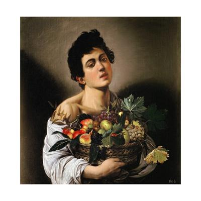 Boy with Basket of Fruit by Caravaggio