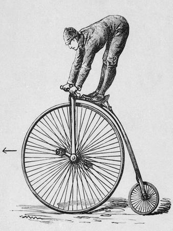 Acrobat Riding Bicycle