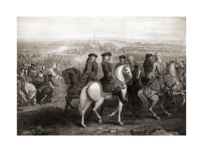 Painting of Battle of Blenheim