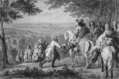 Louis XIV Receiving Key to City