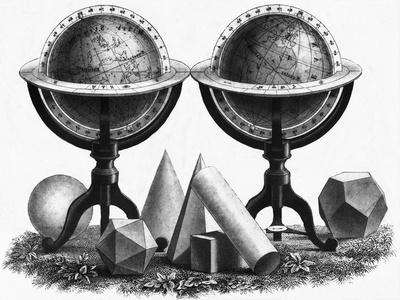Earth Globe Designs with Various Shapes at the Base