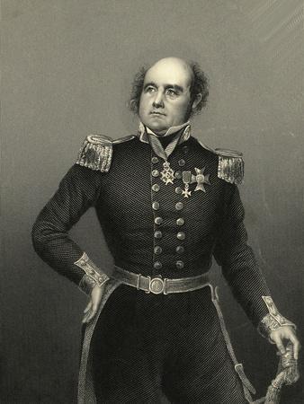 Portrait of Admiral Sir John Franklin