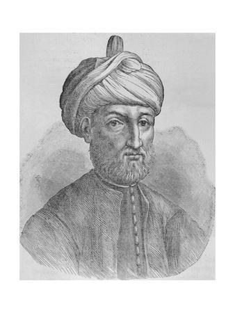 Portrait of Islamic Prophet Muhammad Ibn Abdallah
