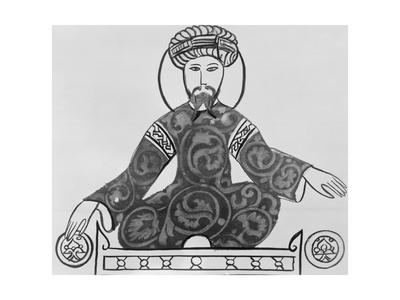 Illustration of Sultan Saladin