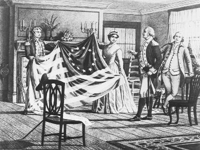George Washington Viewing Flag