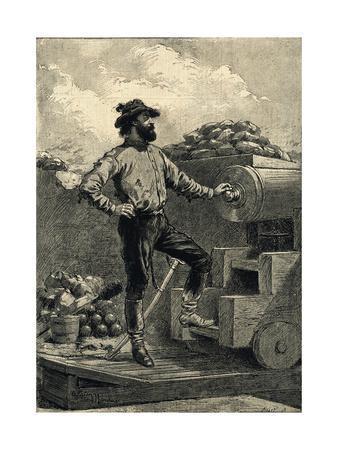 Giuseppi Garibaldi in 1849