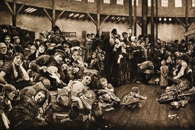 The Emigrants by Hubert Von Herkomer