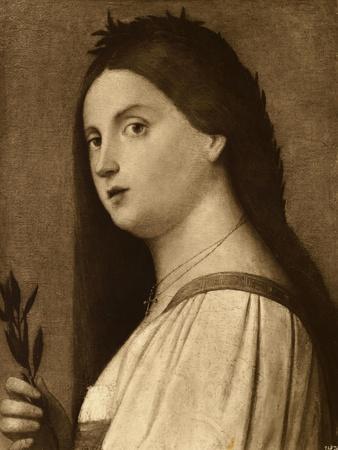 14Th Century Painting of Italian Woman