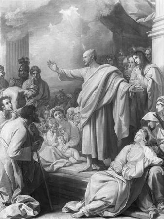 Saint Paul Preaching to Corinthians