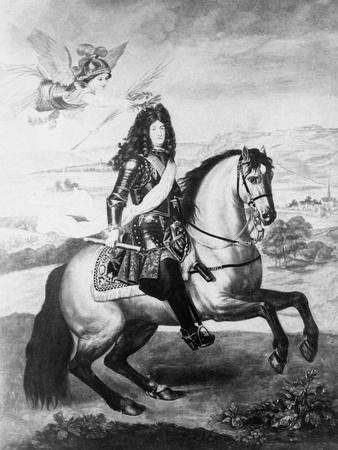 Louis XIV on Horse