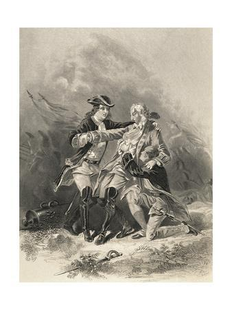 Painting of Death Scene for General James Wolfe