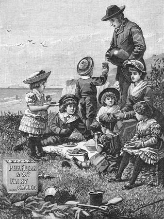 Family Picnic near the Sea