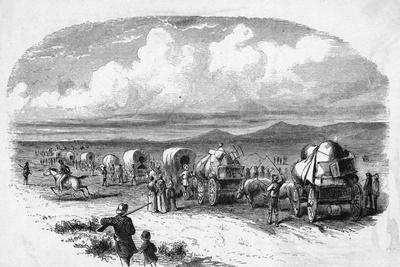 Emigrants on the Way West Pre Civil War