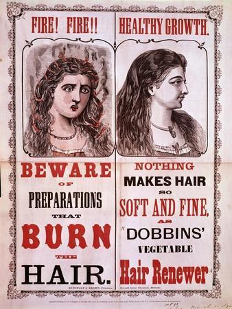 Poster for Dobbins' Hair Renewer