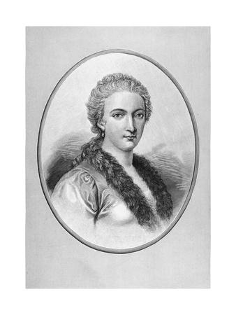 Portrait of Mathematician Maria Gaetana Agnesi