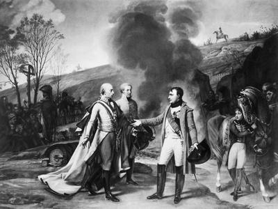 Napoleon Meeting Francis II