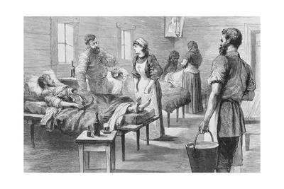 Doctors and Nurses Attending to Patients