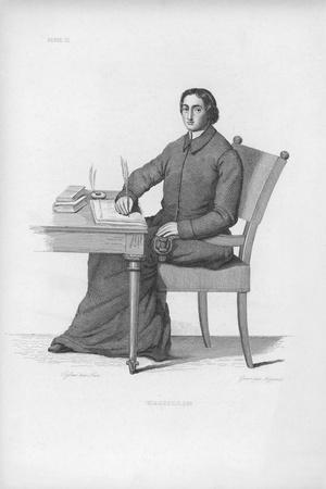 Portrait of Jean-Baptiste Massillon