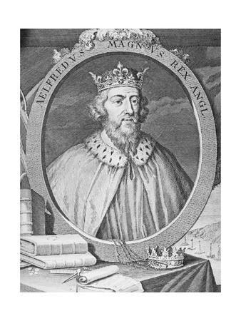 Portrait of King Alfred the Great