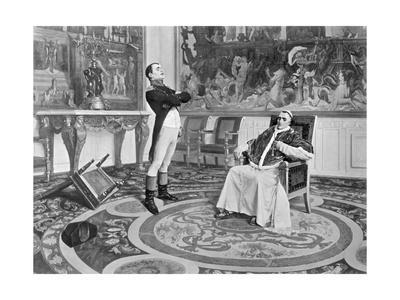 Napolean and Pope Pius the VII
