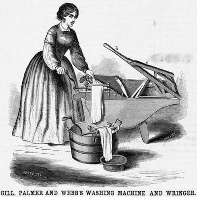 Washing Machine and Wringer