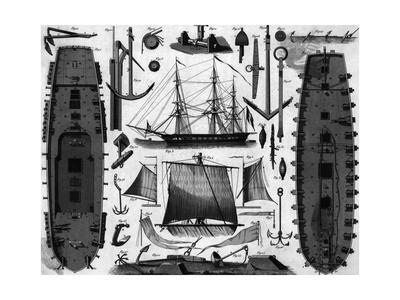 French Frigate; Parts