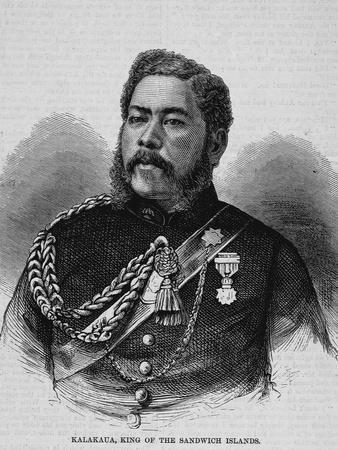 Kalakaua, King of the Sandwich Islands