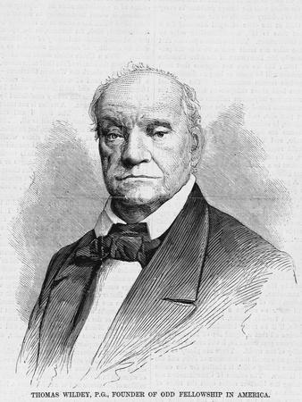 Thomas Wildey, P.G., Founder of Odd Fellowship in America.