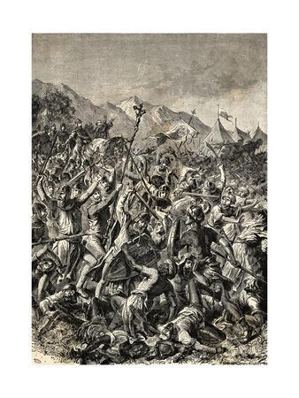 Spanish Fighting with the Moors