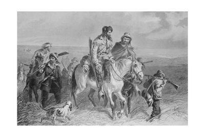 Early Americans Making their Way to Vote