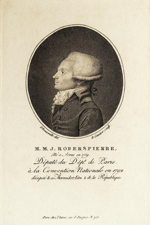 Profile of Revolutionary Robespierre