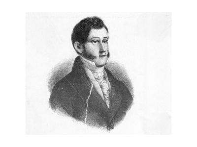 Portrait of Agustin De Iturbide