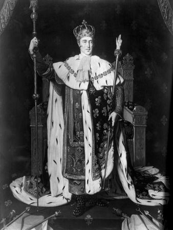 Portrait of Charles X in Coronation Robe