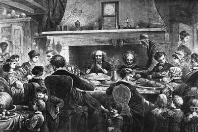 Drawing of Thanksgiving @ Farm House