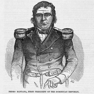 Portrait of Pedro Santana