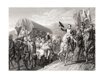 Napoleon Honoring the Courageous Wounded