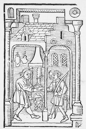 Illustration of Jacob and Esau