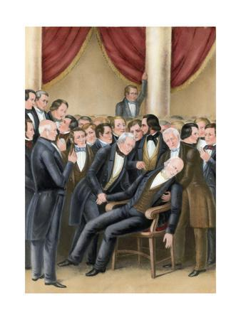 Death of John Quincy Adams