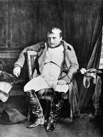 Napoleon at Fontainebleau by Paul De La Roche