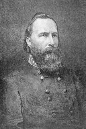 Portrait of Military Officer James Longstreet