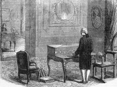 Illust.; the First Telegraph