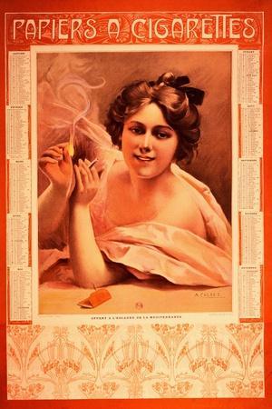 Publicity Calendar for Cigarette Papers
