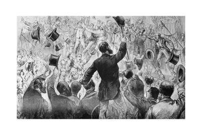 Early Democratic Convention Illustration