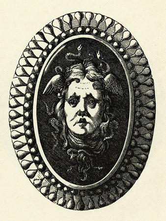 Head of Medusa on Shield
