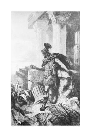 Gaius Marius among Ruins of Carthage